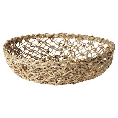 "LOKALT Basket, banana fiber/handmade, 12 ½ """