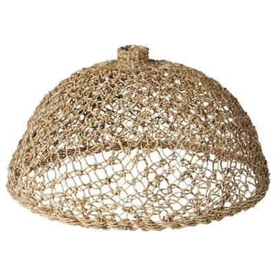 """LOKALT Lamp shade, banana fiber/handmade, 17 """""""