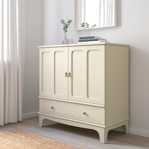 "Ikea cream LOMMARP Cabinet, light beige, 40 1/8x39 3/4 """