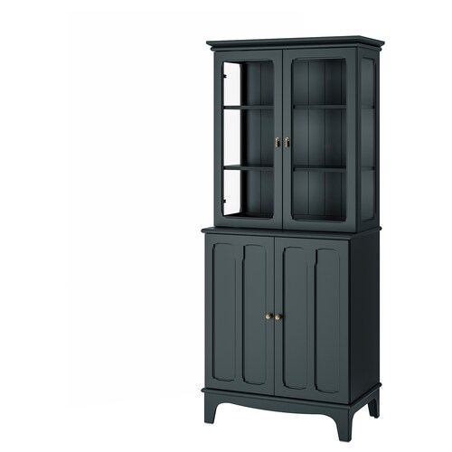 IKEA LOMMARP Cabinet with glass doors
