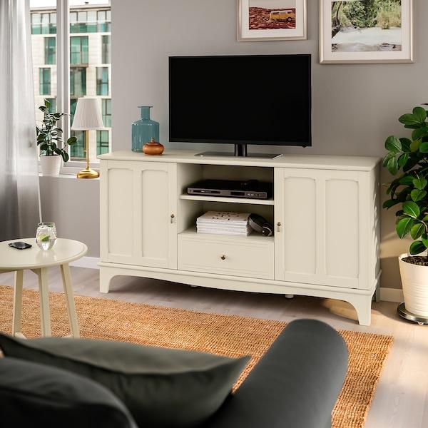 """LOMMARP TV unit, light beige, 62 5/8x17 3/4x31 7/8 """""""