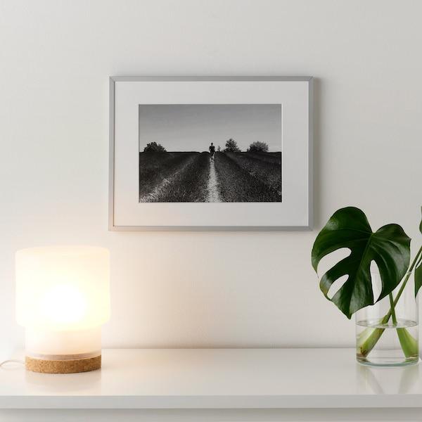 """LOMVIKEN Frame, aluminum, 12 ¼x16 ¼ """""""