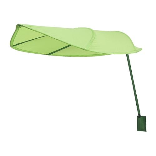 LÖVA Bed canopy IKEA Can be mounted on the wall above a bed, an armchair etc. Filters the light, creates an atmosphere without blacking out.