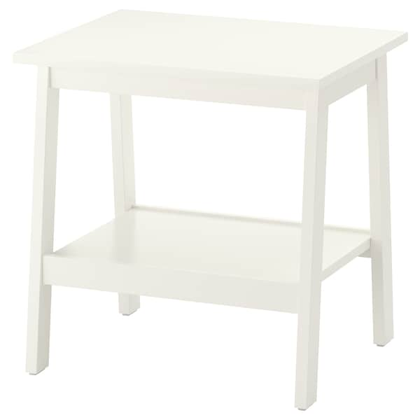 LUNNARP Side table, white, 21 5/8x17 3/4 ""