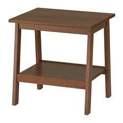 LUNNARP Side table - brown - IKEA