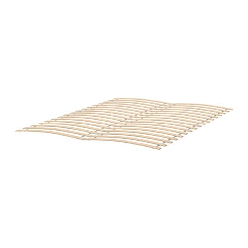 LURÖY Slatted bed base Full/Double -