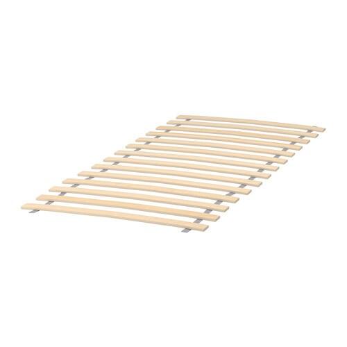 LURÖY Slatted bed base - 27 1/2x63