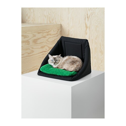 LURVIG - Cat bed/house, black