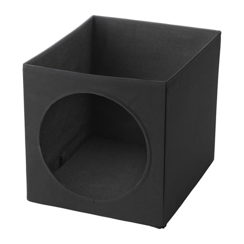 LURVIG Cat house, black