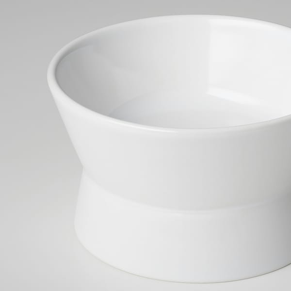 LURVIG Reversible food bowl, white