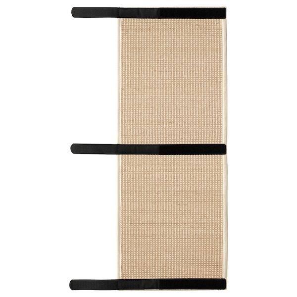 "LURVIG Scratching mat, natural, 9 7/8x24 3/4 """