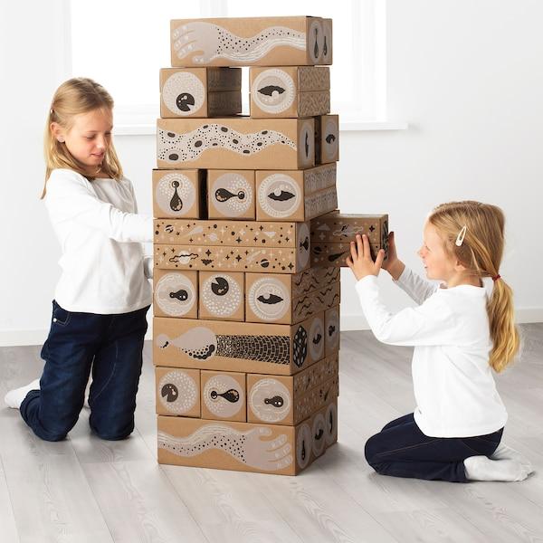 "LUSTIGT Building blocks, 5x5 """