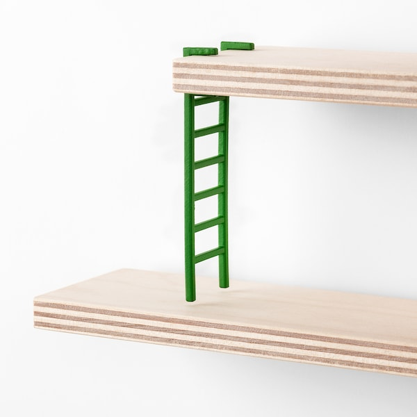 """LUSTIGT Wall shelf, 14 5/8x14 5/8 """""""