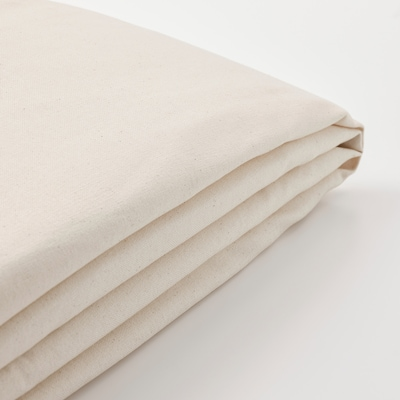 LYCKSELE Cover for sleeper sofa, Ransta natural