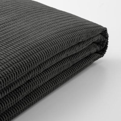 LYCKSELE Cover for sleeper sofa, Vansbro dark gray