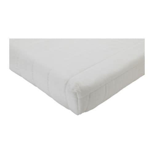 LYCKSELE HÅVET Mattress IKEA Pliable mattress in high-resilience foam and latex molds to the shape of your body.