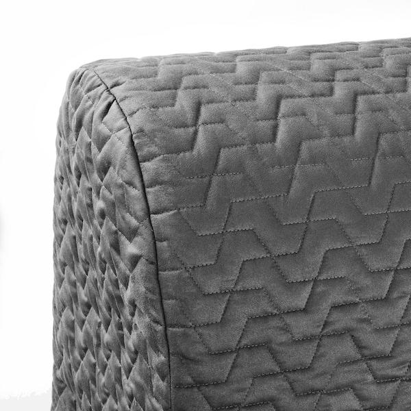 LYCKSELE LÖVÅS Sleeper sofa, Vallarum gray
