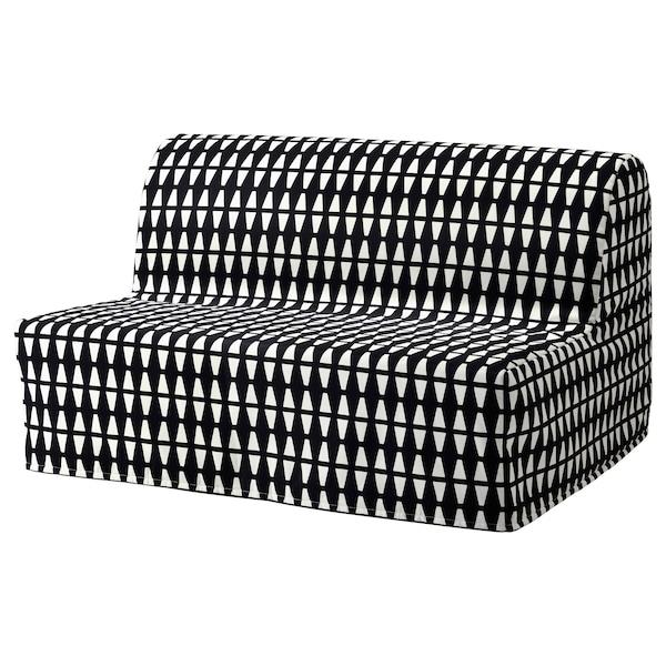 Sleeper Sofa Ebbarp Black White