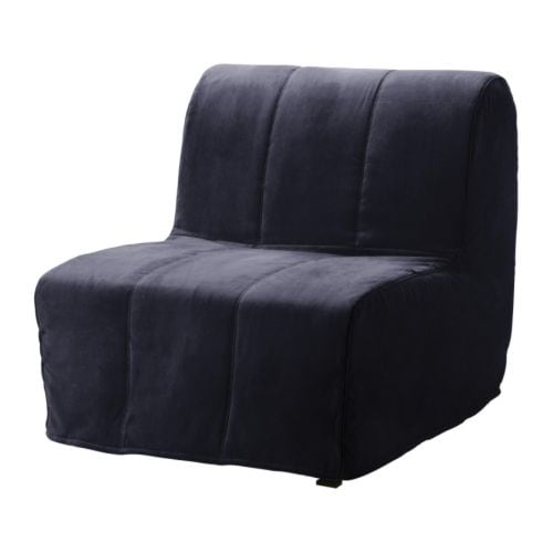 LYCKSELE LÖVÅS Chair bed IKEA Easy to keep clean with a removable,machine washable cover.