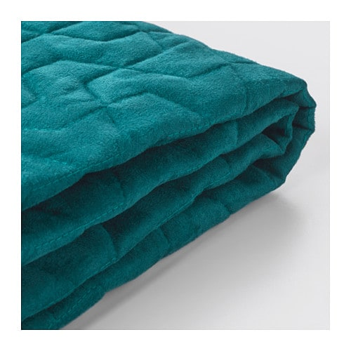 Lycksele Sleeper Sofa Slipcover Vallarum Turquoise Ikea
