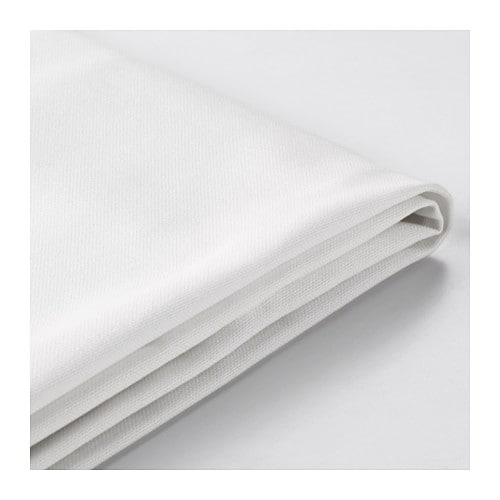 LYCKSELE Sleeper sofa slipcover Ransta white IKEA