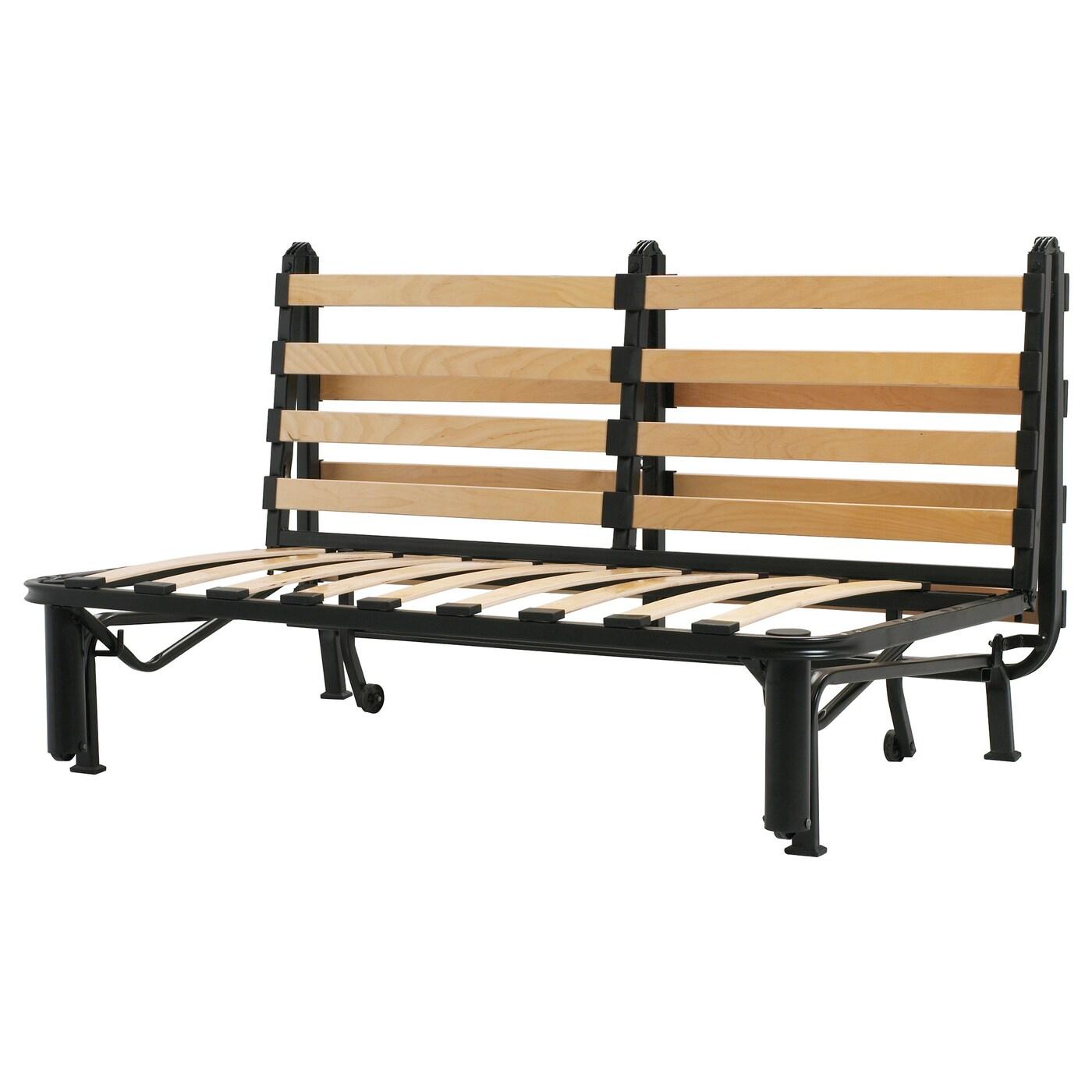 Lycksele Sleeper Sofa Frame Black Ikea