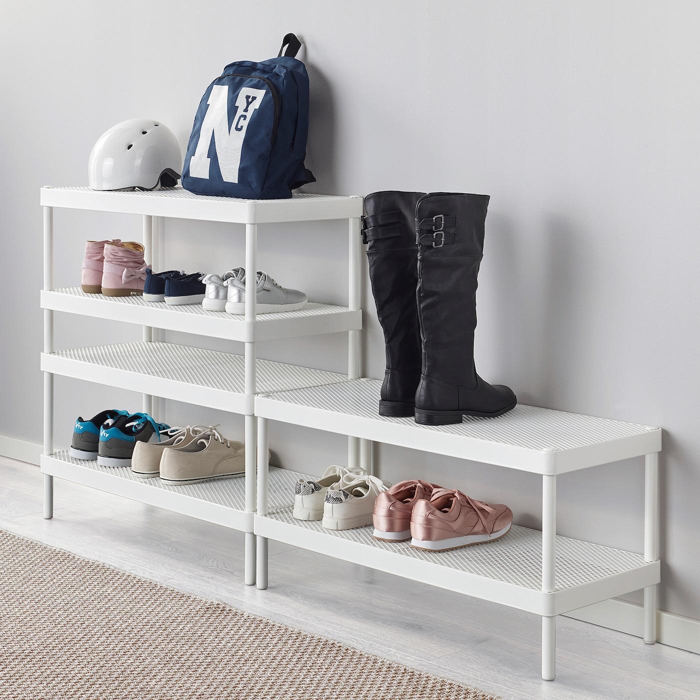 MACKAPÄR Shoe rack, white - IKEA