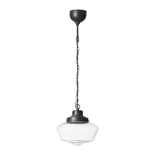 MAGLARP Lámpara colgante, color bronce, cristal