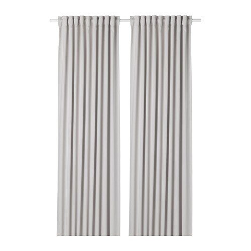 MAJGULL Blackout curtains, 1 pair - IKEA