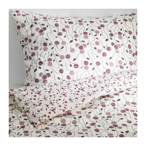 Majviva duvet cover and pillowcase s full queen ikea - Couette anti acarien ikea ...