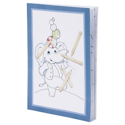 MÅLA Coloring book