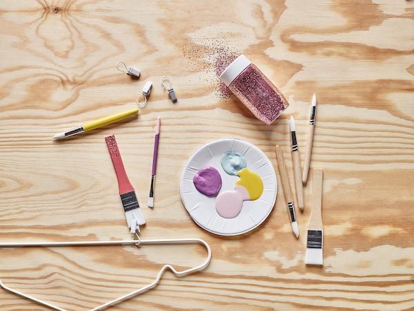 MÅLA Paintbrush, set of 6
