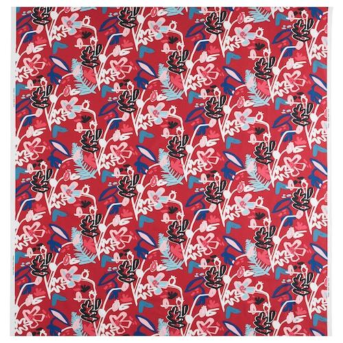 "MÅLARBORSTE fabric red/multicolor 0.75 oz/sq ft 59 "" 13 "" 16.15 sq feet"
