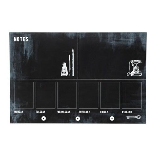 m u00c5larna chalkboard organizer