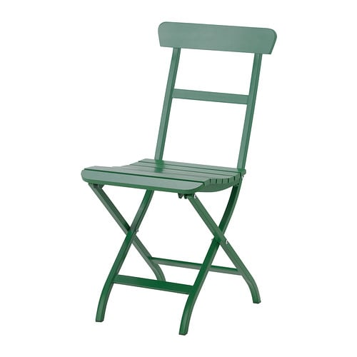 MÄLARÖ Folding chair IKEA This chair is perfect for your balcony or as extra seating around your outdoor dining table.