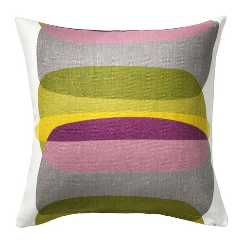 MALIN FIGUR Cushion cover IKEA Cover is made of ramie; a hard-wearing and absorbent natural material.