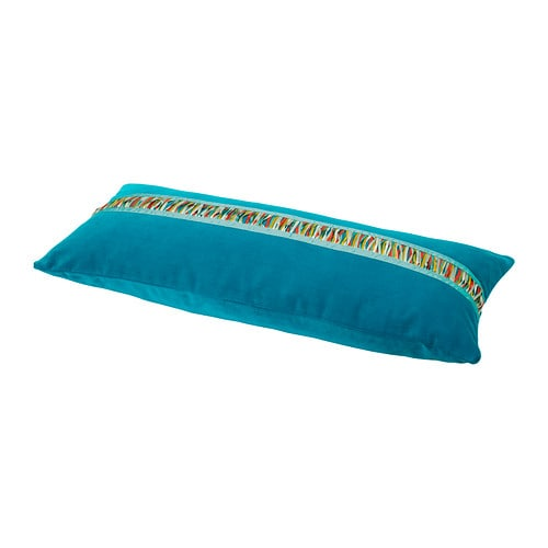 MALIN FRANSAR Cushion IKEA Cotton velvet gives depth to the color and softness to the touch.  Zipper makes the cover easy to remove for washing.