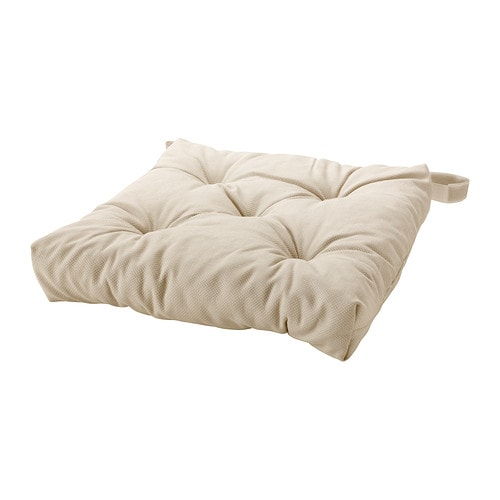 Sale alerts for Ikea MALINDA Chair cushion, light beige $6.99 - Covvet
