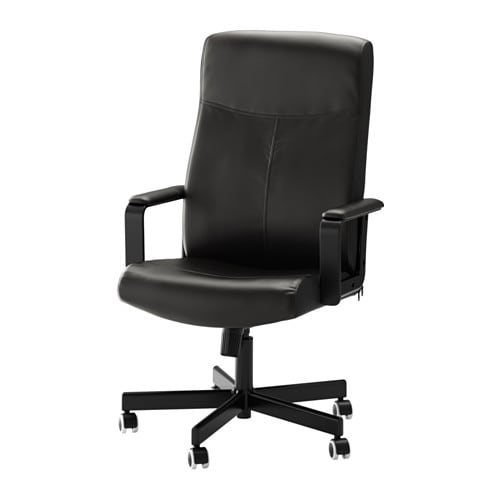 Malkolm Swivel Chair Bomstad Black Ikea