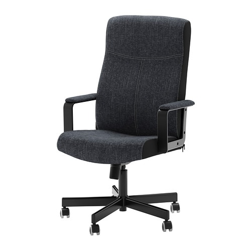 MALKOLM Swivel chair IKEA Height adjustable for a comfortable sitting posture.