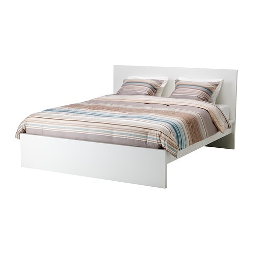 malm bed frame high queen ikea ForHigh Bed Frame Queen