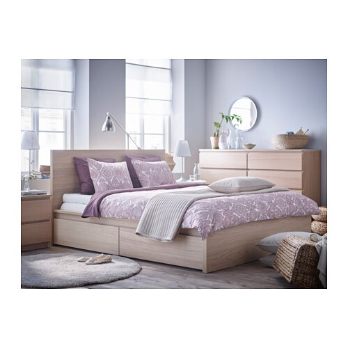 ikea malm bedroom malm high bed frame 4 storage boxes queen ikea