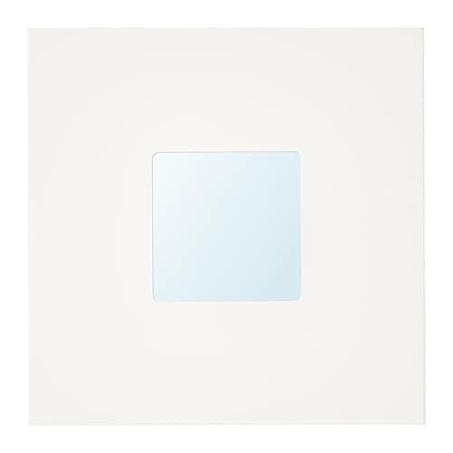 MALMA Mirror, white white 10x10