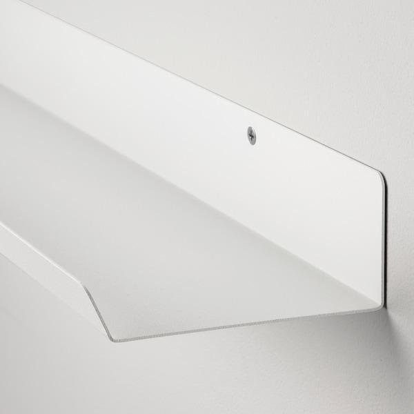 "MALMBÄCK Display shelf, white, 23 5/8 """