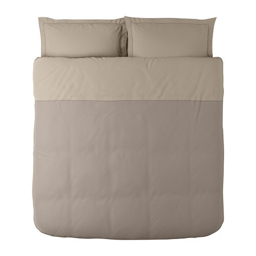 Malou duvet cover and pillowsham s king ikea for Ikea bed covers sets queen