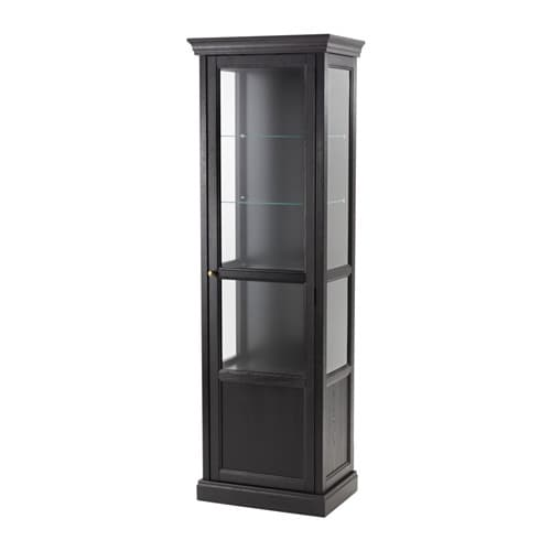 MALSJÖ Glass Door Cabinet