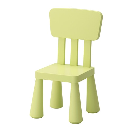 Mammut children 39 s chair indoor outdoor light green ikea - Tabouret plastique ikea ...