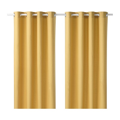 Mariam curtains 1 pair ikea - Rideaux ikea velours ...