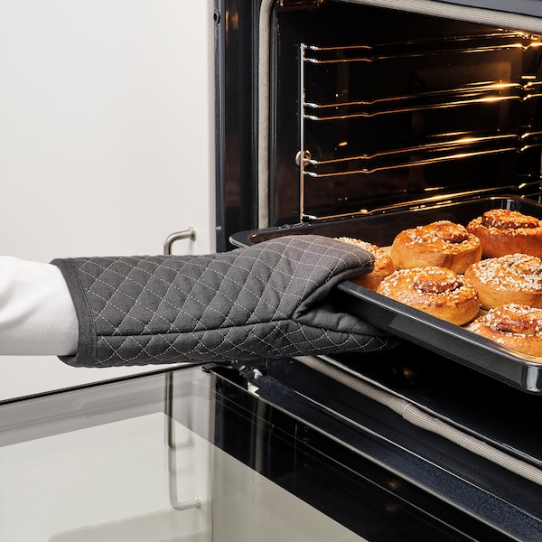 MARIATHERES Oven mitt, gray