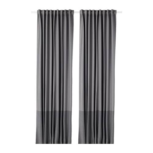 Marjun Blackout Curtains 1 Pair